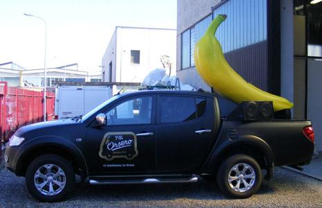 banana mockup